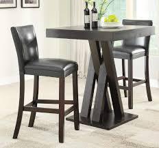 coaster table and chairs coaster 100520 bar table set cappuccino 100520 bar set at