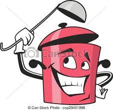 dessin casserole cuisine vecteurs eps de caractère dessin animé casserole louche