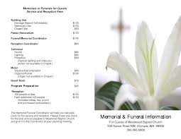 free sle funeral programs templates funeral program template free 28 images 7 best images of free