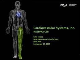 cardiovascular systems csii presents at lake street capital best