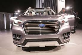 Subaru Three Row Subaru Ascent Suv Concept Aims For Three Row Domination Cnet