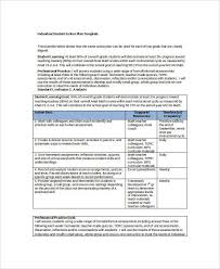 student action plan template 8 free word pdf format download