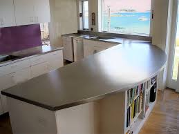 Kitchen Island With Storage by Kitchen Stainless Steel Kitchen Countertops With Arc Shaped