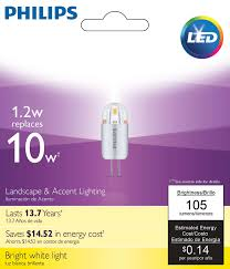 Philips Landscape Light Bulbs by Led Capsule 046677454111 Philips