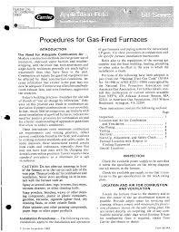 carrier furnace 58 user guide manualsonline com