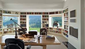 modern home library interior design interesting home library designs for modern homes interior design