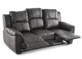 Cheap Leather Recliner Sofa Islington Cheap Leather Recliner 3 Seater Sofa