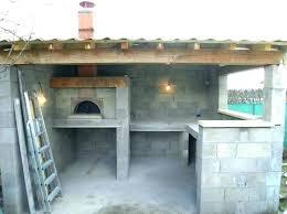 construction cuisine d été extérieure cuisine d ete exterieure dune cuisine cuisine ete exterieure plan