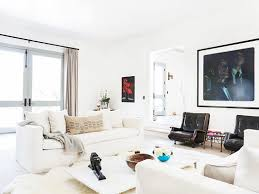simple all white living room beautiful home design gallery under