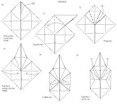 origami orchid tutorial origami diagrams