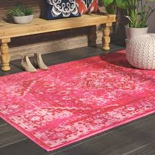 Pink Area Rug Mistana Decker Pink Area Rug Reviews Wayfair