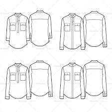 collar shirt template eliolera com