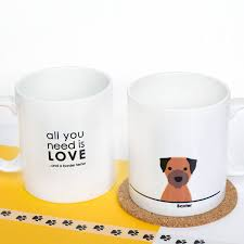personalised u0027all you need is love and a dog u0027 mug by heather