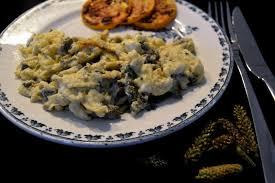 cuisine sauvage recettes omelette aux inflorescences de plantain je cuisine sauvage