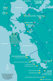 Map Of Bay Area Y Is Every Y Locations