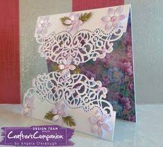 create a card by kendra wietstock for crafter s companion die sire create a