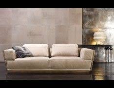 High End Sofa by Nella Vetrina Rugiano Vogue 6017 240b In Beige Suede Leather