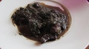 cuisiner du chevreau ardeche recette d ardèche le sanquet de chevreau