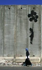432 best bansky images on pinterest urban art banksy graffiti westbank wall balloon girl by banksy