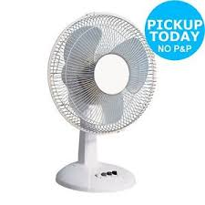 12 inch 3 speed oscillating fan challenge white 3 speed oscillating desk fan 12 inch argos shop