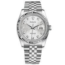 rolex bracelet white gold images Rolex datejust silver jubilee diamond dial jubilee bracelet 18k jpg