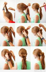 cool step by step hairstyles cool easy diy hairstyles
