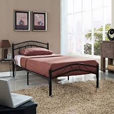 bedroom king size metal bed frame metal twin bed iron bed frame