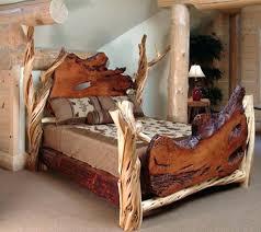 Wood Log Bed Frame Wood Furniture For Sale Hardwoods Lumber Mills Yards And