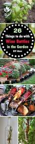 diy wine bottle ideas for garden empty wine bottles bottle and wine