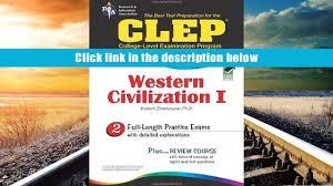 audiobook clep western civilization i the best test preparation