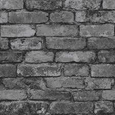stone brick fine decor luxury 10m effects wallpaper stone brick wood slate new