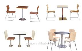 Commercial Dining Room Chairs Fast Food Table Chair Set Commercial Cafe Furniture Used Table And