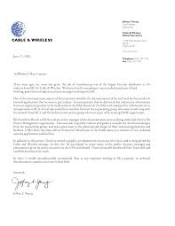 template for letter of recommendation from employer 28 images