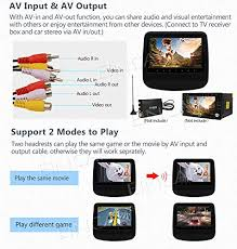 Cd Player With Usb Port For Cars Eincar Two Car Headrest Dvd Cd Player With High Screen Usb Port Sd