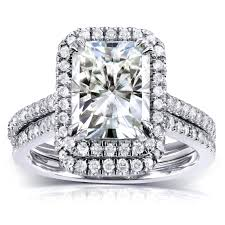diamond wedding sets kobelli moissanite moissanite engagement rings wedding sets