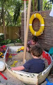 Backyard Sandbox Ideas 15 Clever Ideas For Reuse Boats Amazing Diy Interior U0026 Home Design