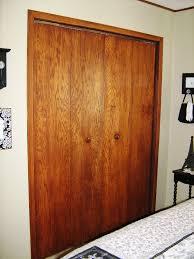 Making Bi Fold Closet Doors by Kindred Style Kandy U0027s First Closet Door Makeover