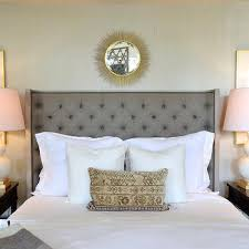Headboard With Mirror by Mirror Over Headboard Design Ideas