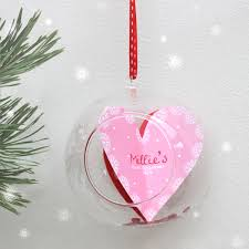 Baby S First Christmas Baubles Uk by Baby U0027s U0027first Christmas U0027 Glass Bauble Sweet Dimple