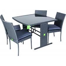 tavoli da giardino rattan set tavolo completo di sedie per esterno in polyrattan mapaonline