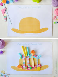 Easter Hat Decorations by Easter Play Dough Mats Free Printable Picklebums