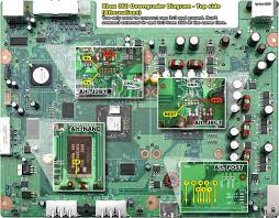 xbox 360 circuit board diagram readingrat net