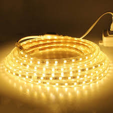 smd5050 led strip light 220v waterproof 60leds 5m 10m 15m 20m outdoor lighting canada smd5050 flexible indoor decora holida