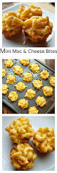 mini macaroni and cheese bites a great tailgating food
