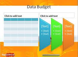 budget presentation powerpoint template budget cuts finance