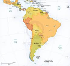 america map political vector map south america continent political one stop map