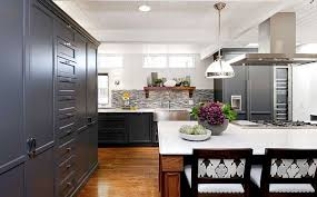 shaker style kitchen ideas kitchens amazing kitchen with black shaker style cabinet and