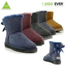 ugg boots sale ebay uk ugg boots sheepskin 100 australian wool mini bailey bow