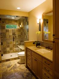 Marble Tile Bathroom by Elegant Neutral Marble Tile Flows Through This Traditional