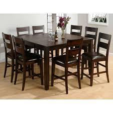 9 Piece Dining Room Set Hillsdale Woodridge 9 Piece Counter Height Dining Set At Hayneedle
